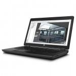 LAPTOP HP WORKSTATION ZBOOK17 G2 i7-4710MQ / 16GB DDR3 / SSD256 / DVD-RW / webcam