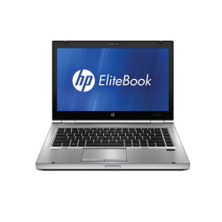 LAPTOP HP ELITEBOOK 8470P I5-3320M / 4GB DDR3 / 320 GB/ DVD-RW / 14.1""