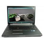 "LAPTOP HP WORKSTATION 8770W i7-3840QM / 16gb / ssd256 / dvd / quadro k3000m / 17.3"""