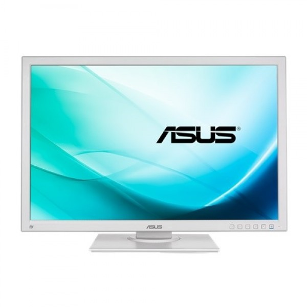"MONITOR 24"" LED-IPS ASUS BE24AQLB FULL HD - WHITE - grad B (ecran zgariat, carcasa ingalbenita)"