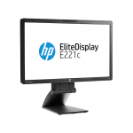 "MONITOR 22"" LED-IPS HP ELITEDISPLAY E221C FULL HD + WEBCAM - GRAD B"