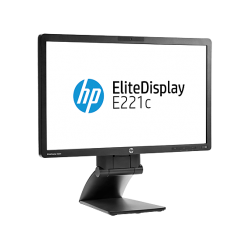 "Monitor 22"" LED-IPS HP EliteDisplay E221c FULL HD + webcam hd"