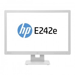 "MONITOR 24"" LED-IPS HP E242e FULL HD WHITE"