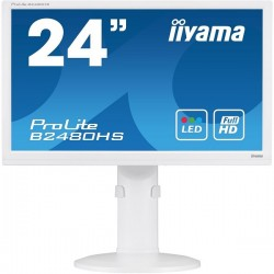 "MONITOR LED 23.6"" IIYAMA PROLITE B2480hs-W1 Full HD WHITE"