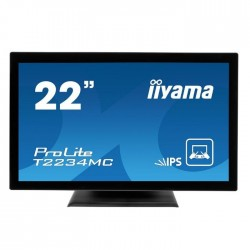 "MONITOR LED-IPS TOUCHSCREEN 21.5"" IIYAMA PROLITE T2234MC-B1"