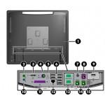 "CALCULATOR POS HP RP7-7800 TOUCHSCREEN PENTIUM G850 / 4GB / HDD320 / 15"""