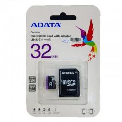 CARD DE MEMORIE microSD 32GB ADATA PREMIER UHS-I / cu adaptor SD