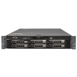 SERVER DELL POWEREDGE R710 2X XEON QUAD E5520/ 16GB / 2 X 1TB SAS / 2U