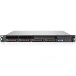 SERVER HP PROLIANT DL360E G8 2 X XEON OCTA CORE E5-2450L / 16GB / 2 X 600GB SAS / 1U
