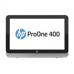 "ALL-IN-ONE HP ProOne 400 G1 i3-4160T / 4GB DDR3 / HDD 1TB / DVD-RW / 19.5"" HD+ / WEBCAM / STAND METALIC"