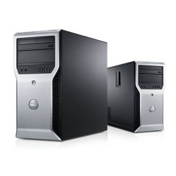 WORKSTATION DELL PRECISION T1600 XEON QUAD CORE E3-1245 / 8GB DDR3 / 500 / Q600 1GB/ TWR