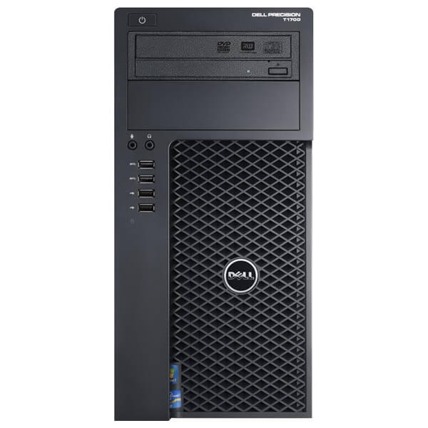 WORKSTATION DELL PRECISION T1700 XEON E3-1270 / 16GB / SSD256 / DVD / QUADRO K2000