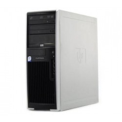 WORKSTATION HP XW4400 C2D E6300 / 4GB / HDD250 / DVD / TWR