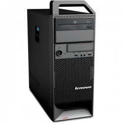 WORKSTATION LENOVO THINKSTATION S20 XEON SIX CORE X5660 / 32GB / SSD 400 + HDD 3TB / DVD-RW / TWR
