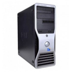 WORKSTATION DELL PRECISION T5500 XEON QUAD E5620 / 12 GB / 250 / QUADRO NVS 300 512MB / TWR