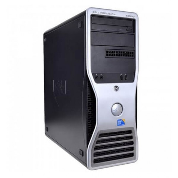 WORKSTATION DELL PRECISION T3500 XEON QUAD W3520 / 12GB / 500 / RW / QUADRO FX1800