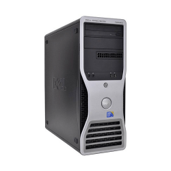 WORKSTATION DELL PRECISION T5500 XEON SIX CORE X5650 / 12 GB / 500 / VGA 1GB / TWR