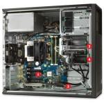 WORKSTATION HP Z240 i7-6700 / 8GB DDR4 / SSD480 / DVD / TWR